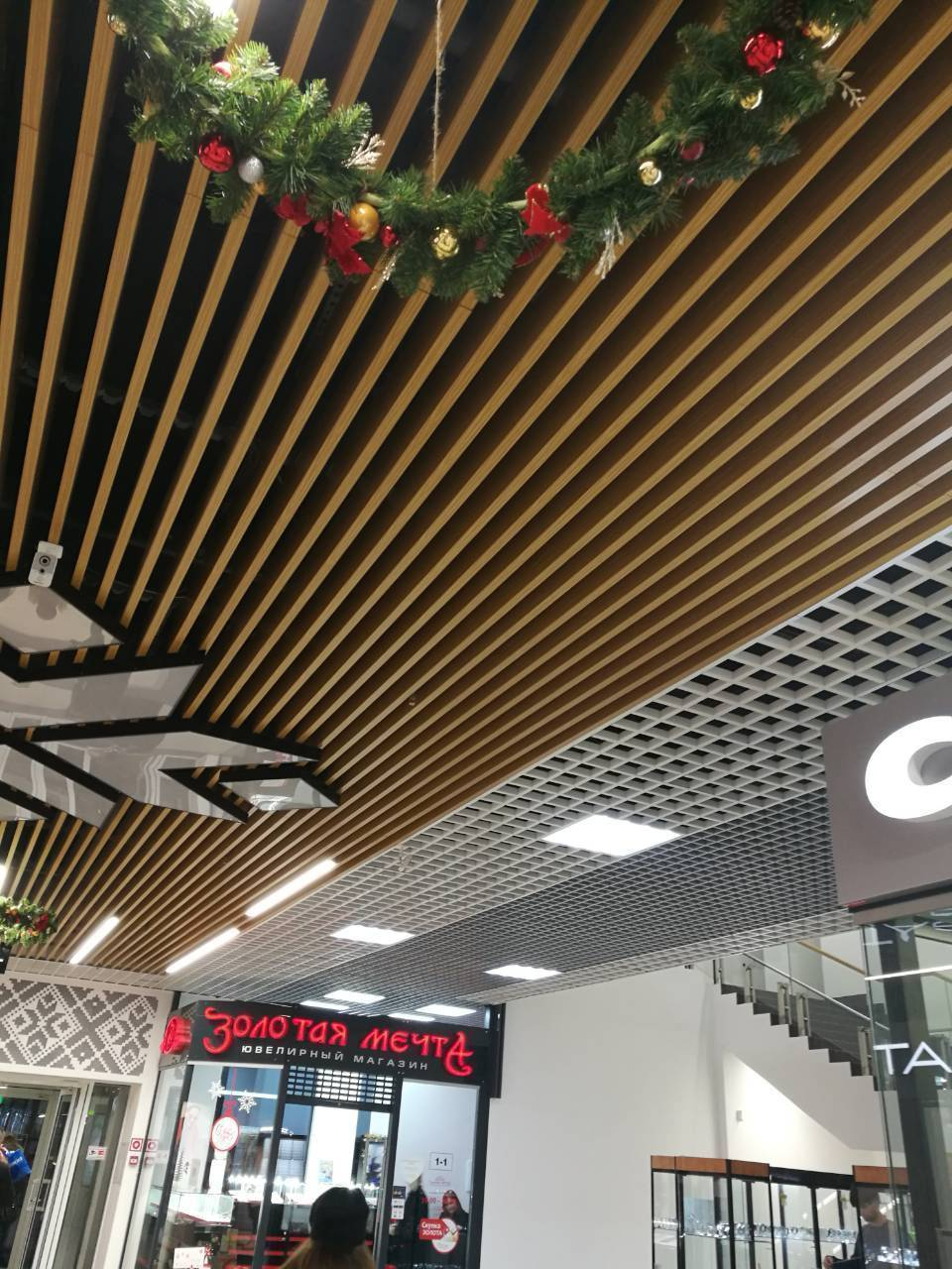 Кубообразный потолок «униформ» – подвесные потолочные системы от ооо «фирма бард»