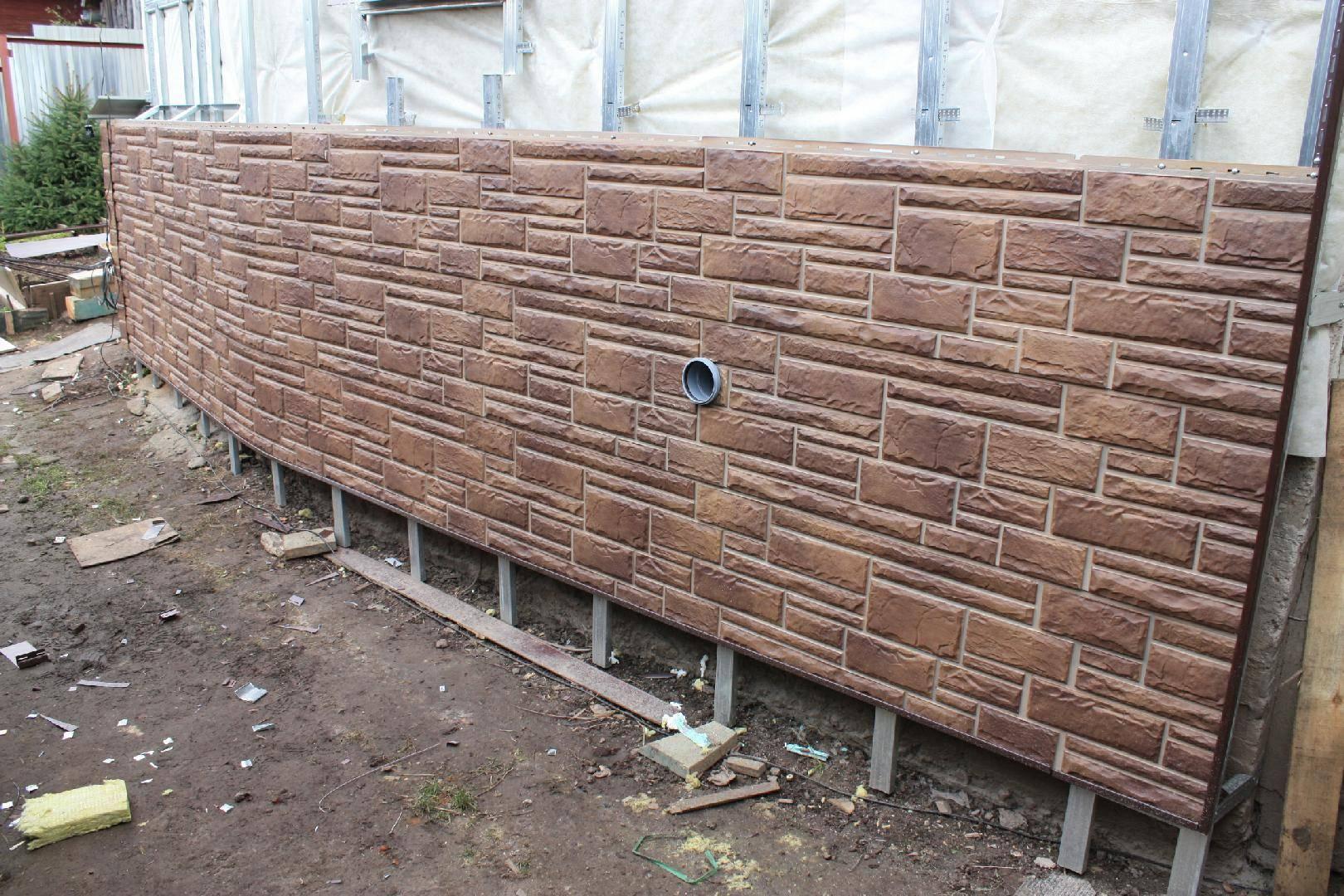 Фасадные панели под кирпич — разновидности, правила монтажа