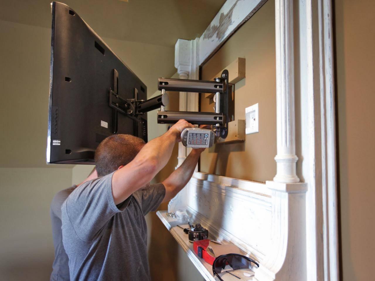 Как повесить телевизор на стену: советы по монтажу и размещению техники ⋆ строю дом