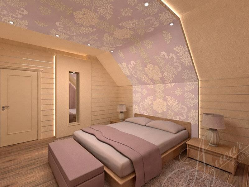 Дизайн мансардного этажа: фото, видео, интерьер мансарды