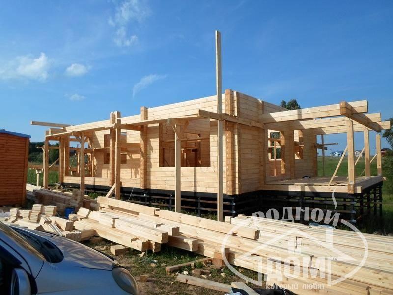 Строительство домов из клеенного бруса: технология и преимущества