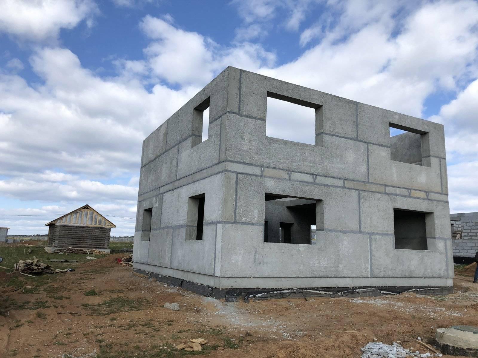 Как построить дом из полистиролбетона: проект, этапы монтажа
