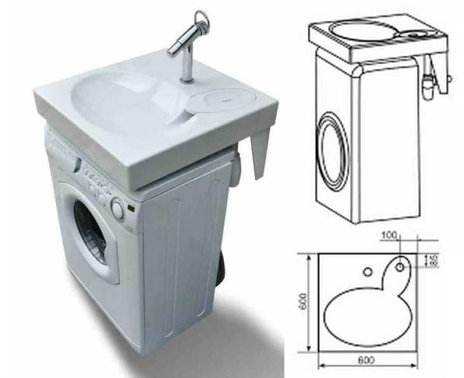 Стиральная машина под раковину — обзор, фото
