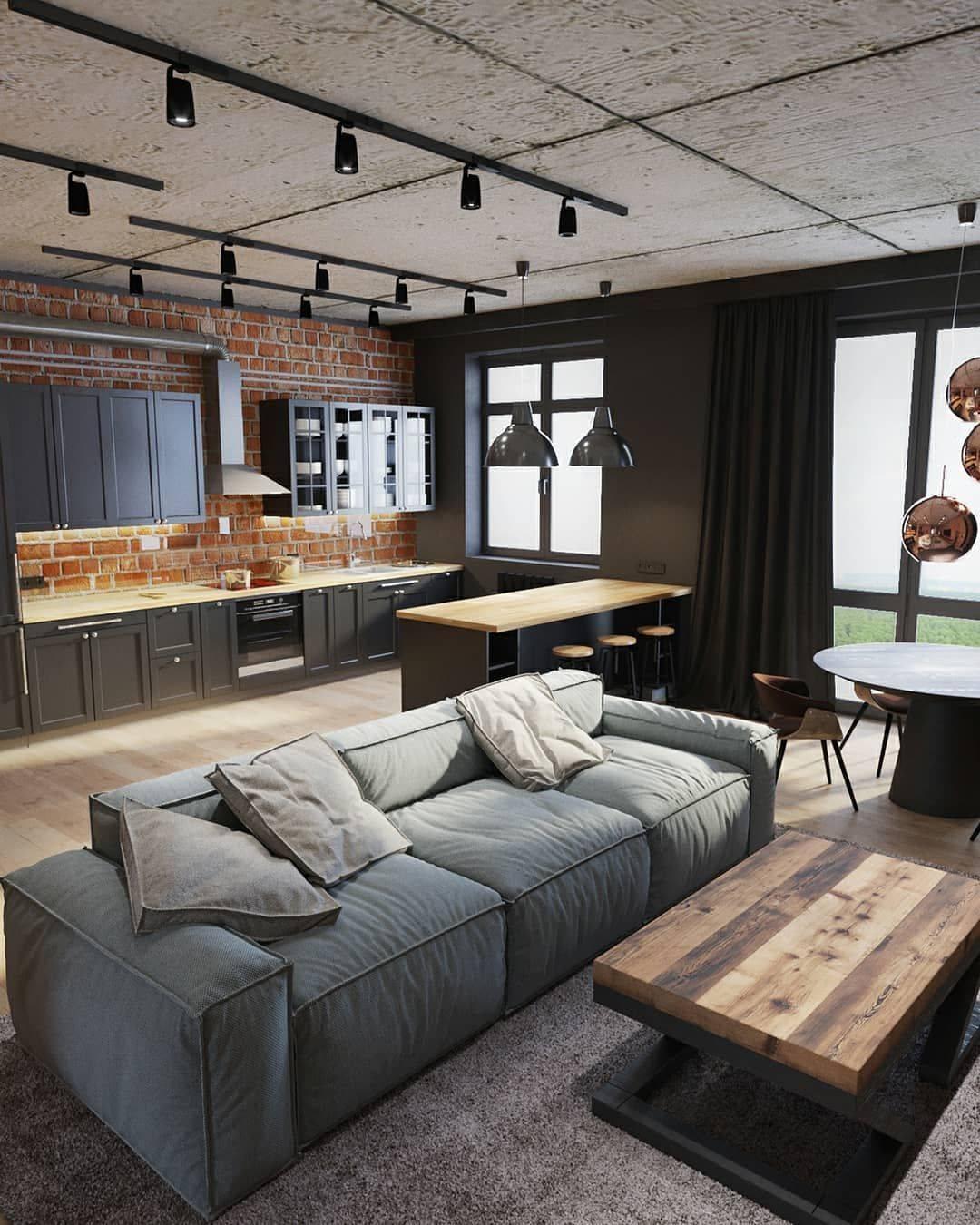 Оформляем маленькую спальню в стиле лофт по всем правилам дизайна