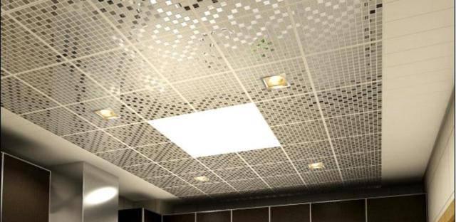 Кассетный потолок подвесной: стоимость для ванной алюминиевого и монтаж 30х30 caveen