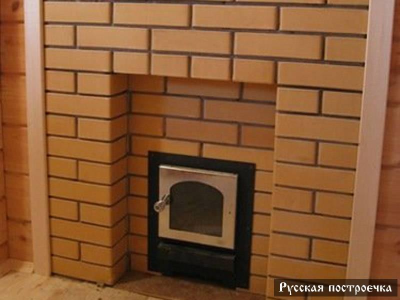 Как обложить железную печь кирпичом в бане: необходимость или декорирование?