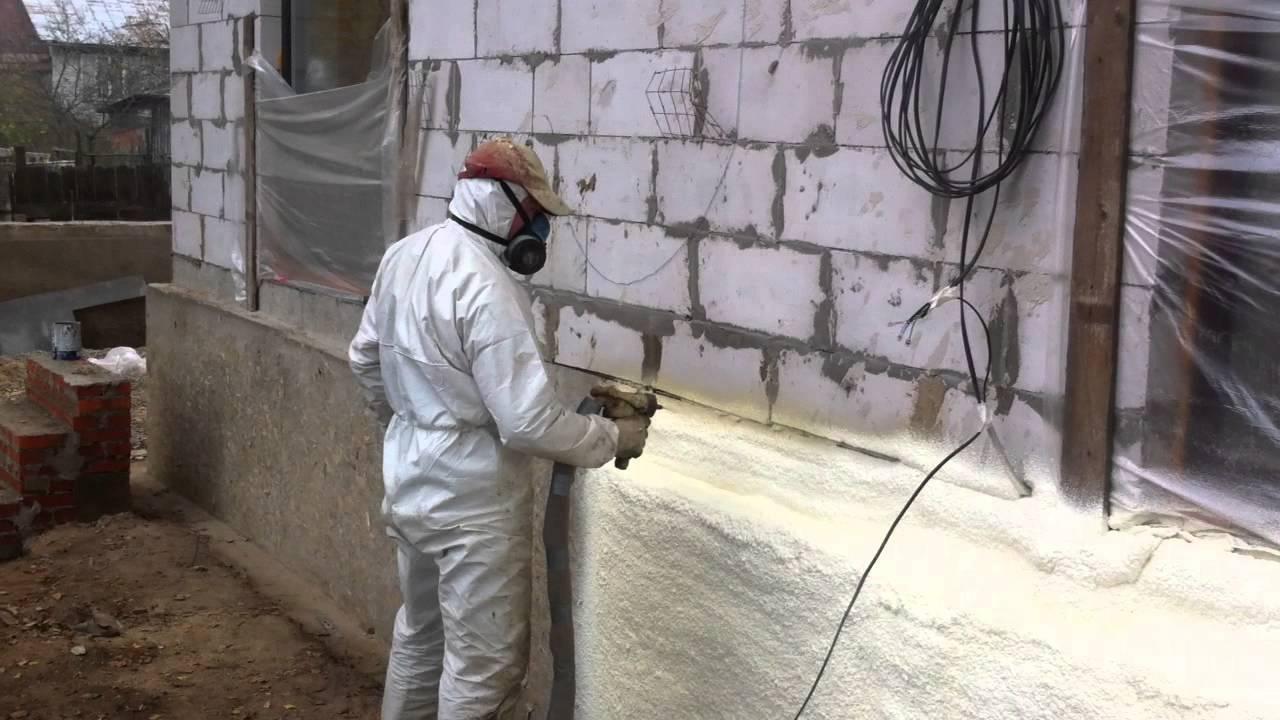 Утепление гаража при помощи ппу в москве. компания «полимер трейд»