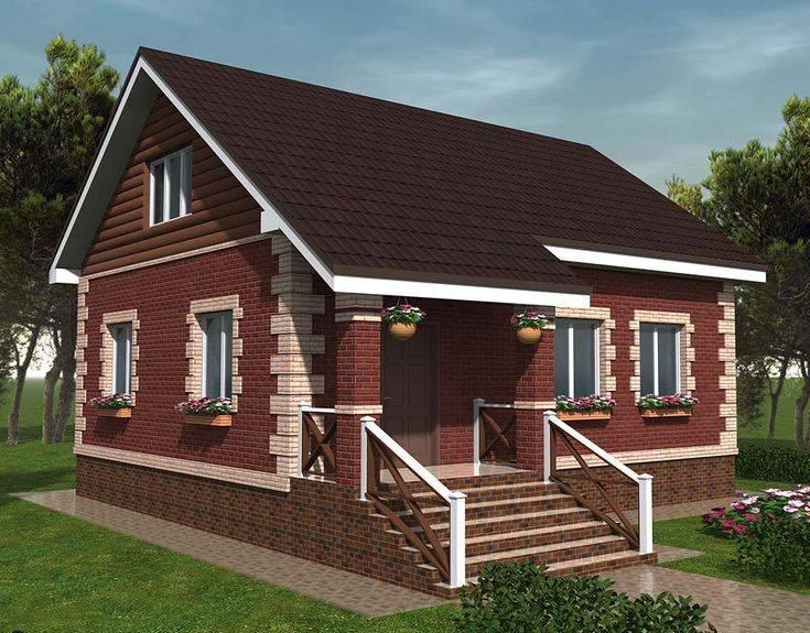 Дома из пеноблоков эконом класса — конструкция и технико-экономические показатели