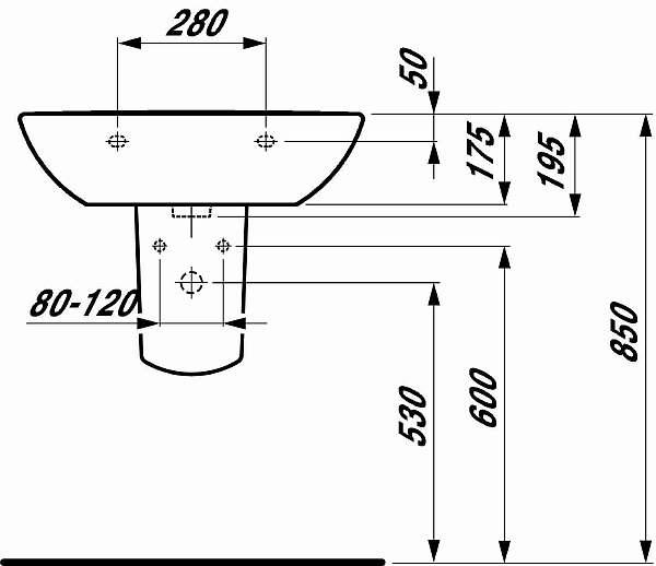 Высота установки раковины, ванны и смесителя – стандарты
