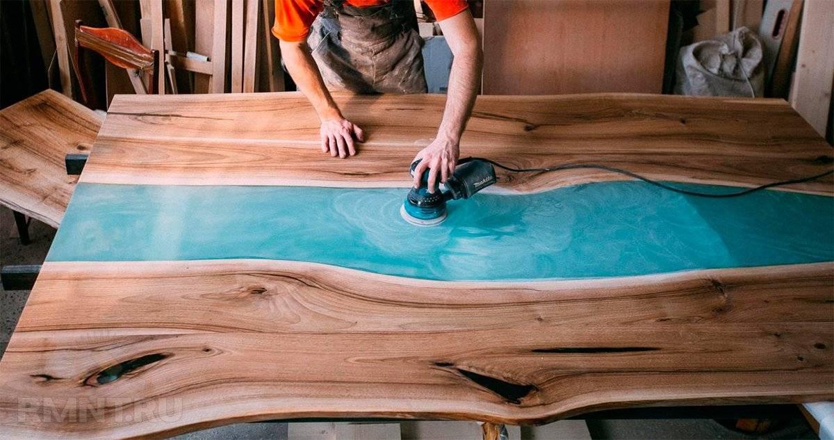 Необычный стол из эпоксидной смолы – тренд 2020 года. подробный мк с видео