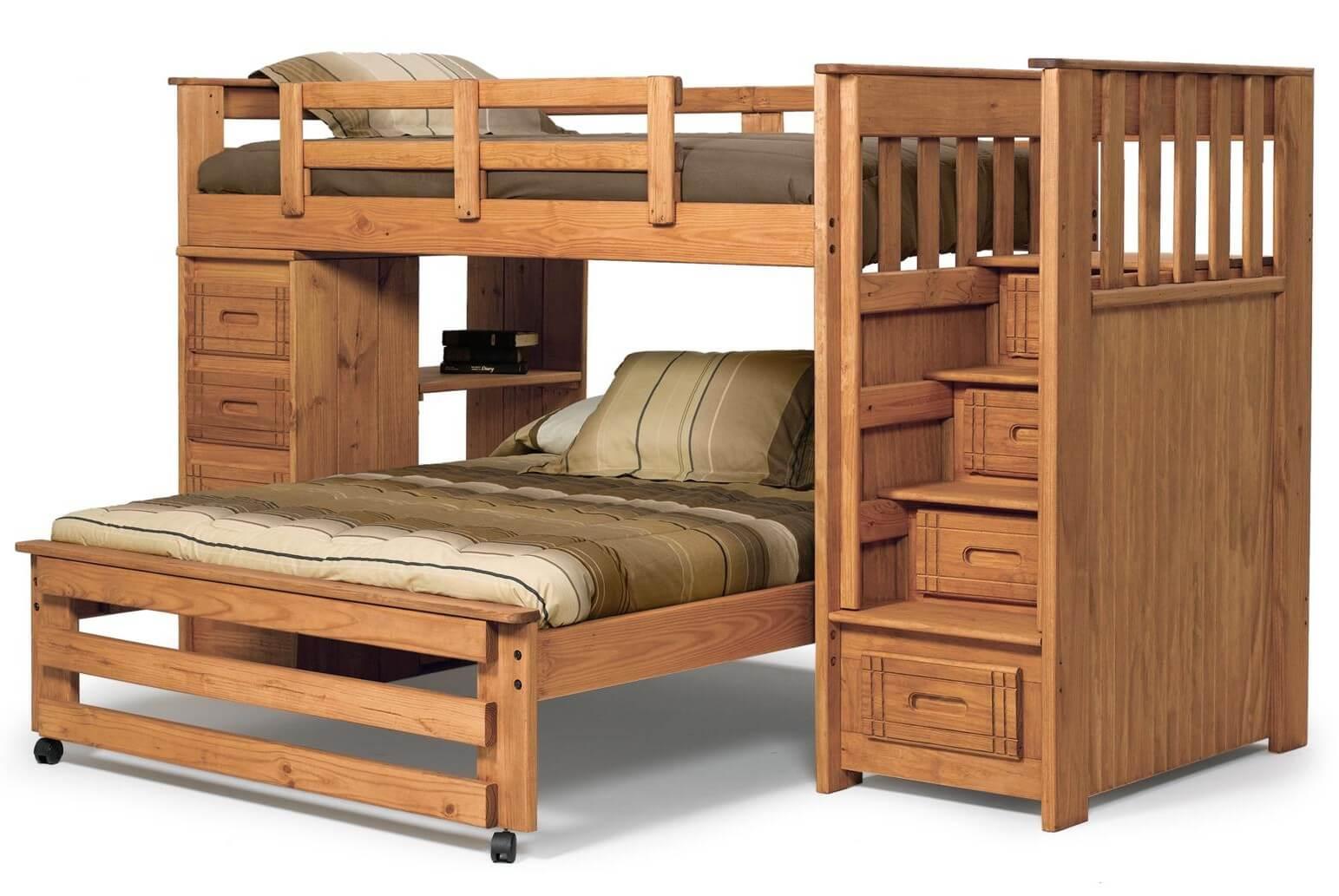 Двухъярусная кровать своими руками - чертежи и схемы, мастер-классы!