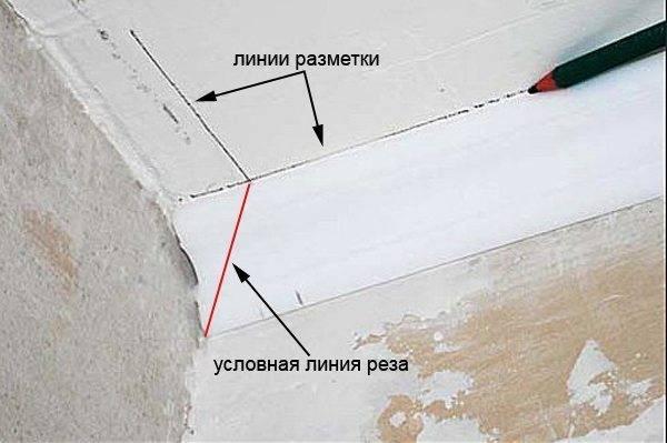 Как резать потолочный плинтус в углах: обрезаем и вырезаем уголки по инструкции от ivd.ru