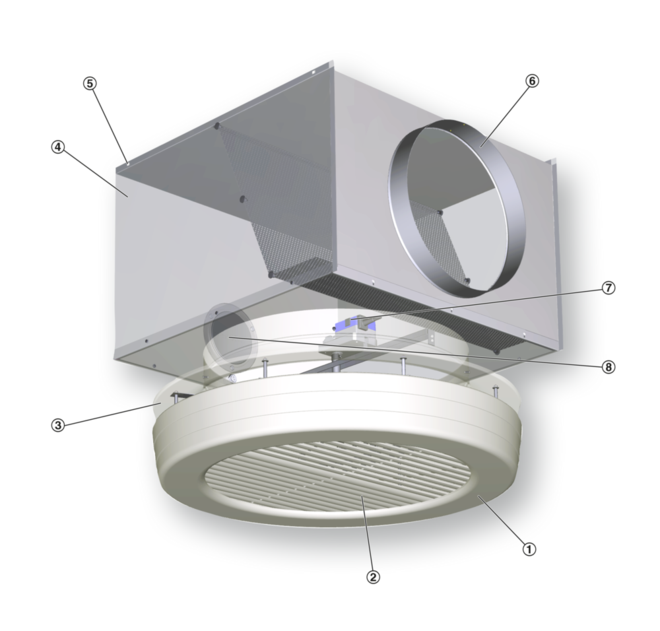 Вентиляционный диффузор: приточно-вытяжной потолочный элемент для вентиляции, что это такое, круглые и щелевые диффузоры