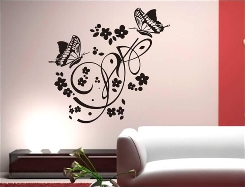 Трафареты для декора стен (55 фото)