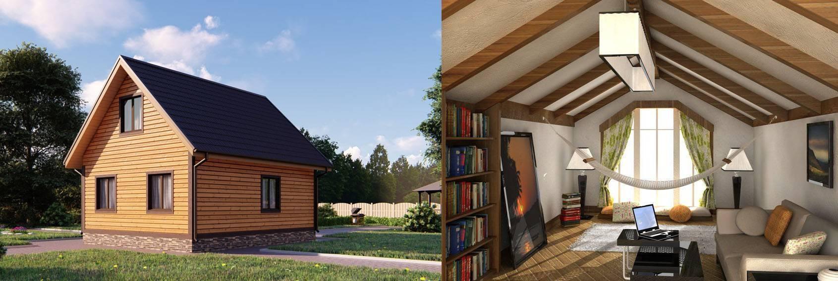 Чертежи одноэтажного дома с мансардой: скачать бесплатно 65 лучших проектов