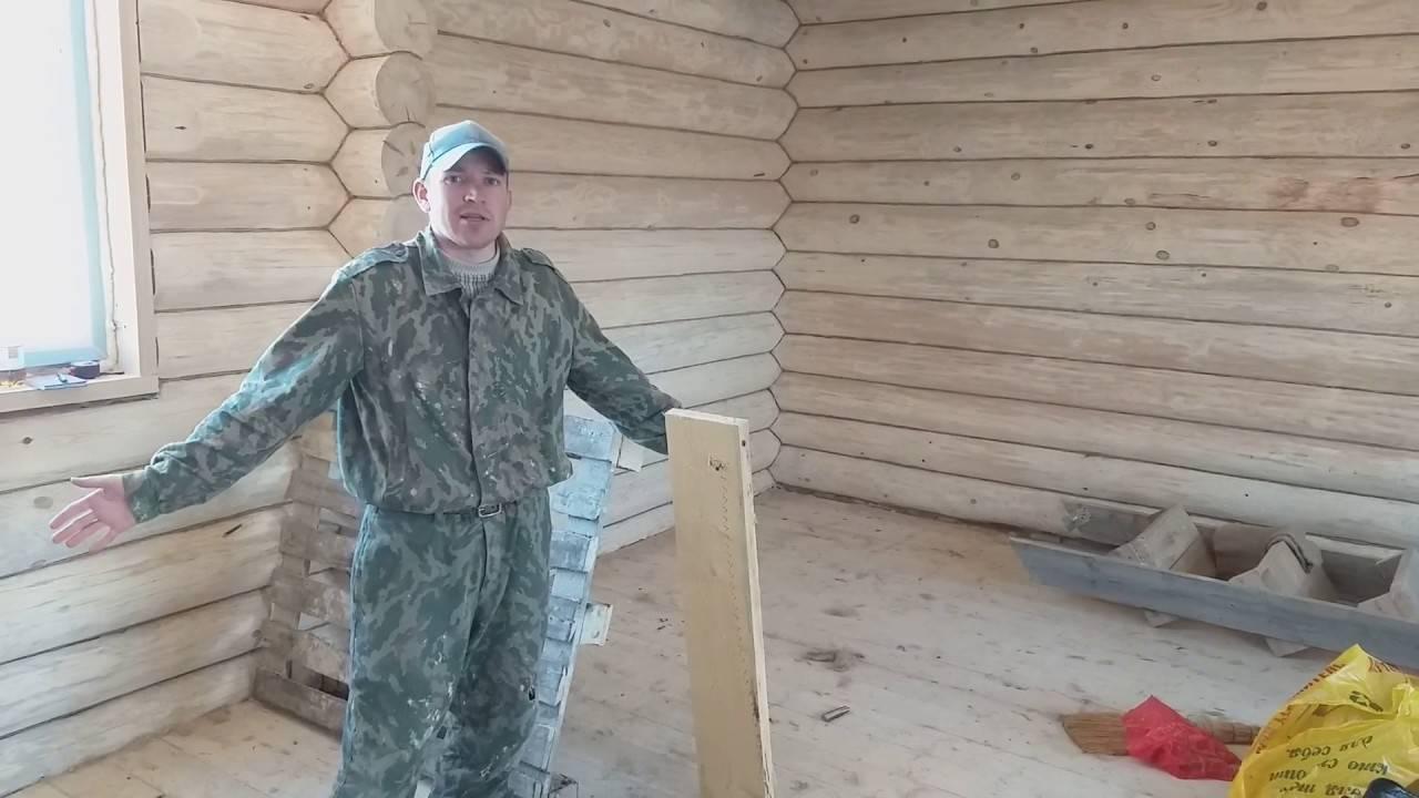 Техника конопатки дома из бруса — expertbrusa.ru