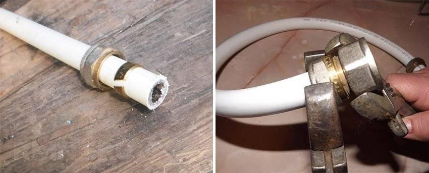Как соединить металлопластиковые трубы для водопровода - всё о сантехнике