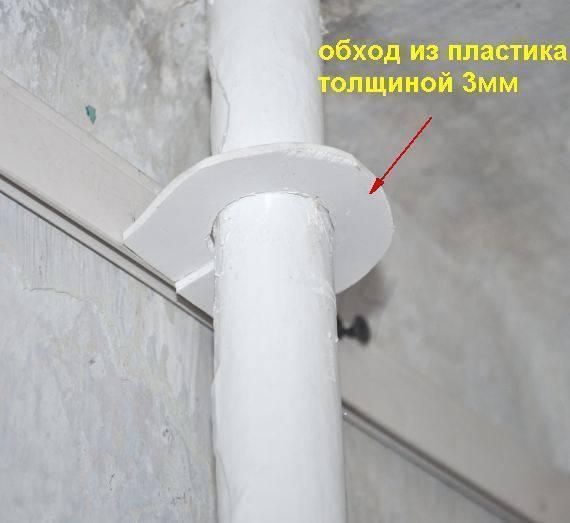 Как сделать отверстие в натяжном потолке своими руками: фото- и видео- инструкция от практиков