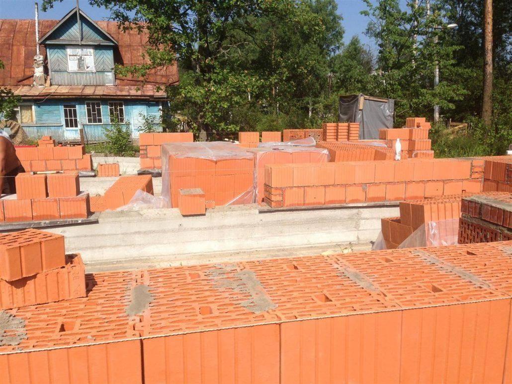Стоимость строительства дома из кирпича и какой кирпич лучше