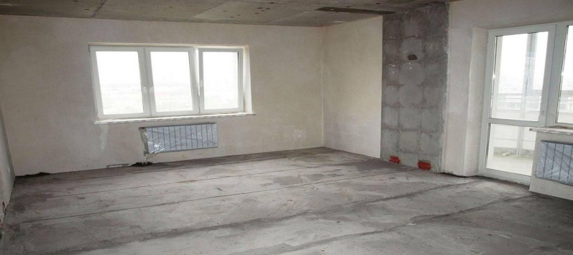С чего начать ремонт квартиры с черновой отделкой?