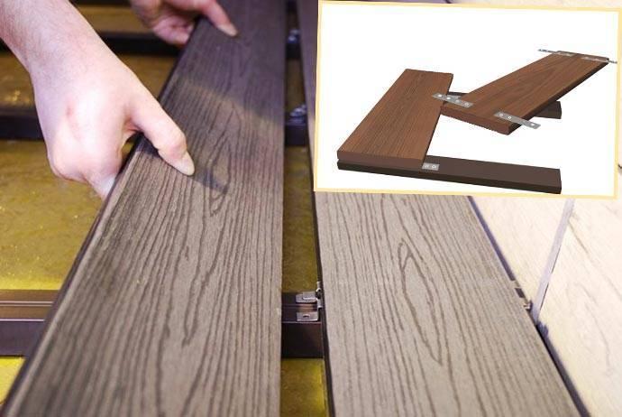 Технология укладки террасной доски из лиственницы
