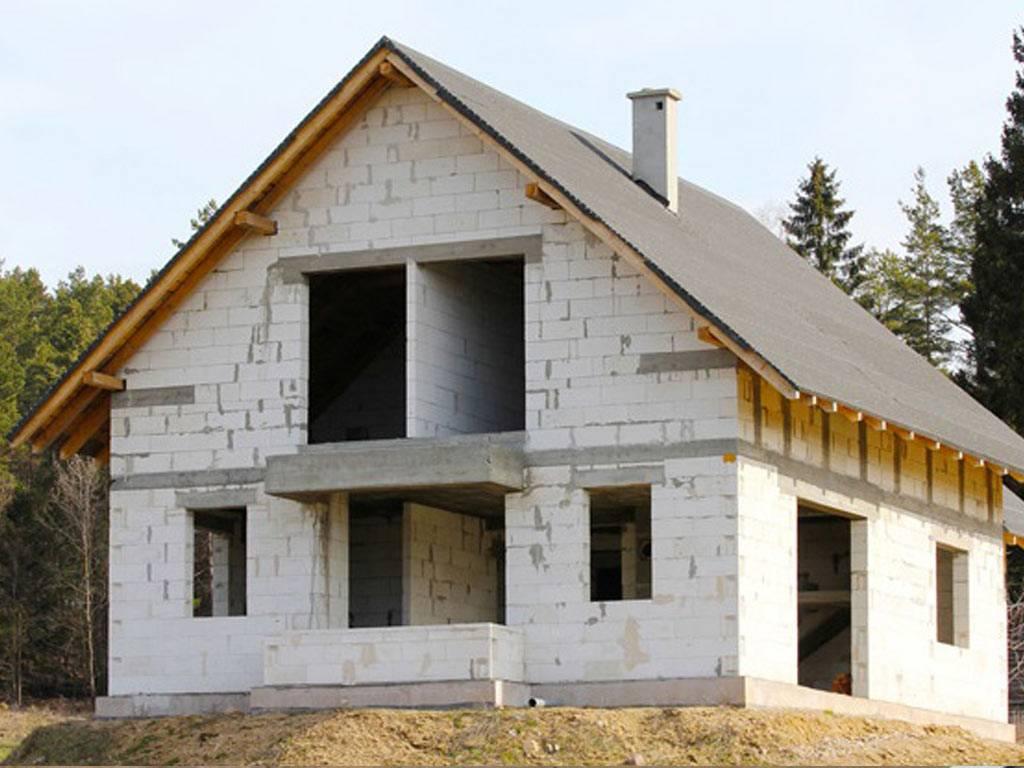 Газобетон как материал для строительства современного дома. все за и против.