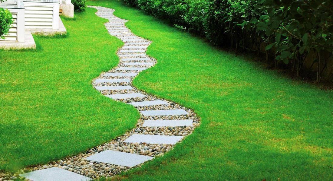 16 идей, из чего можно сделать красивую и практичную садовую дорожку | дизайн участка (огород.ru)