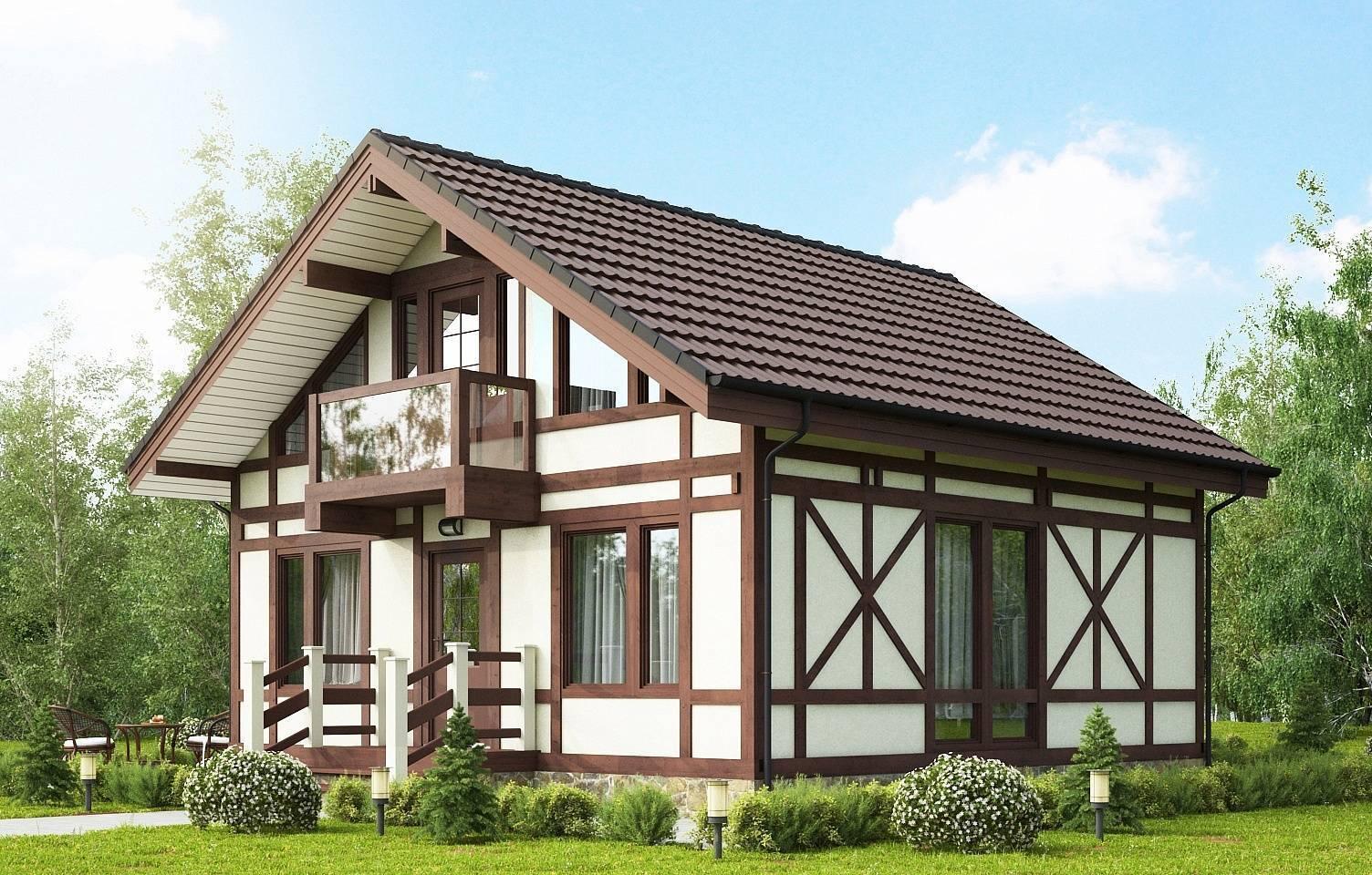 Плюсы и минусы строительства каркасных домов в стиле фахверк |