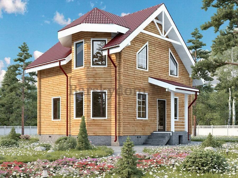Дом с эркером (проекты, 50 фото): выразительный экстерьер, привлекательный интерьер - happymodern.ru