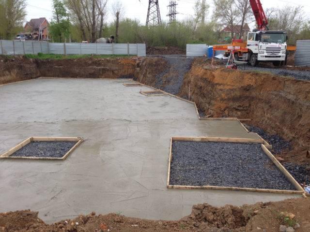 Тощий бетон подбетонка бетон tm