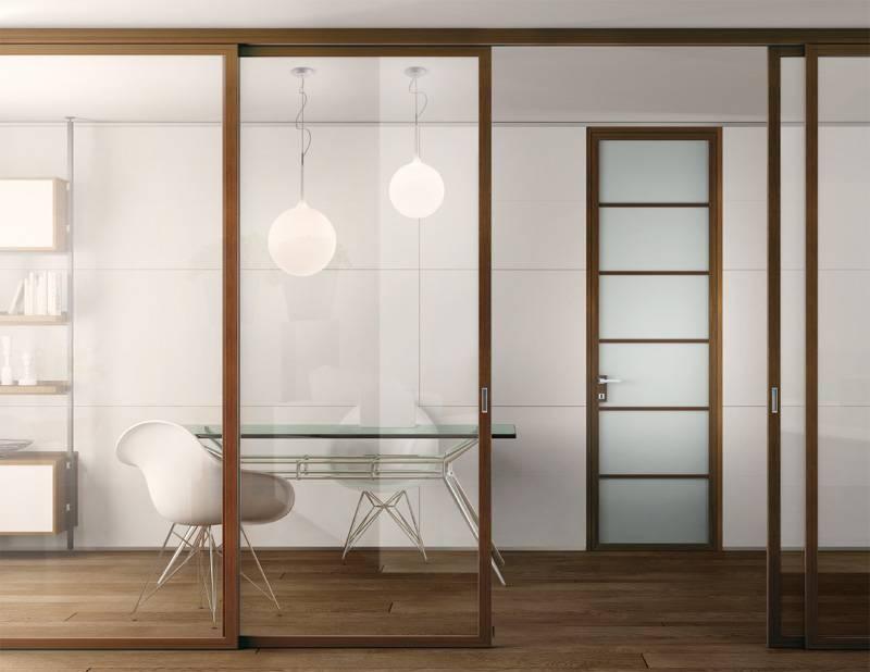 Пластиковые перегородки в офисе и квартире: выбор материала, монтаж