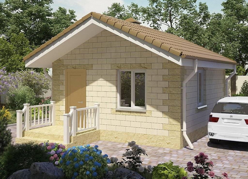 Проекты домов из пеноблоков (84 фото): планировка и строительство конструкций из пенобетона, кладка своими руками