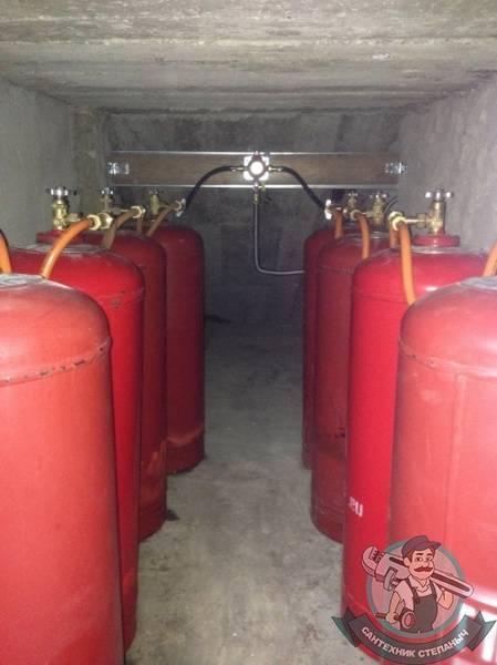 Отопление дома газовыми баллонами: эффективное газовое отопление частного дома на баллонах, фото и видео примеры