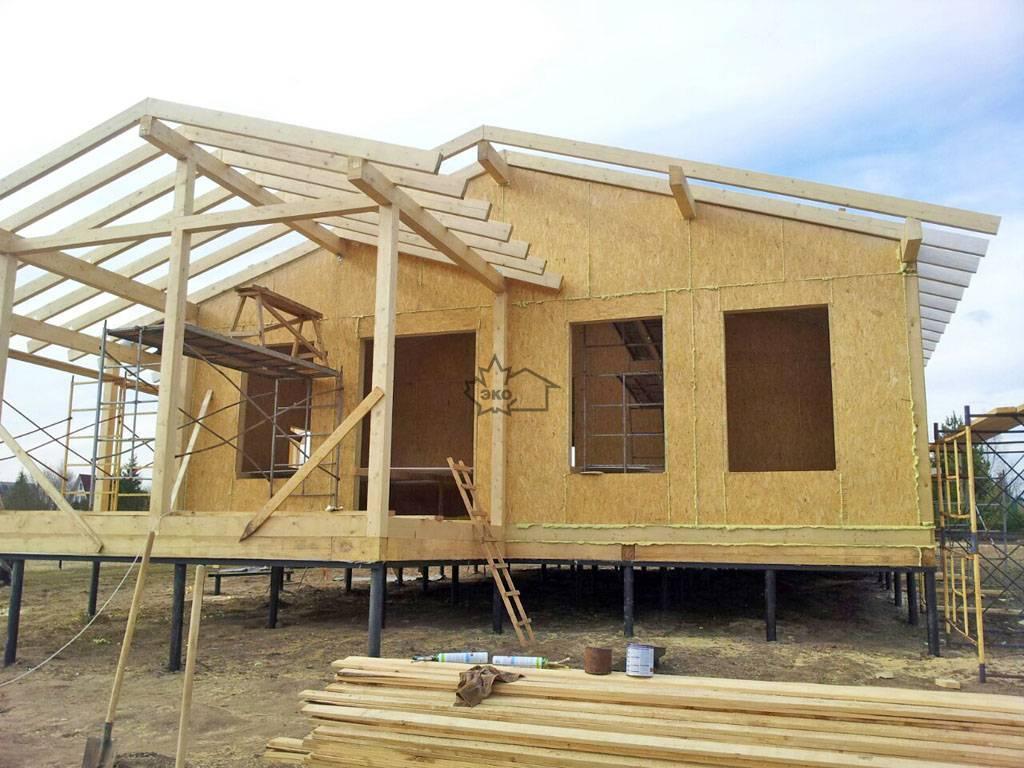 Технология строительства дома из сип панелей своими руками