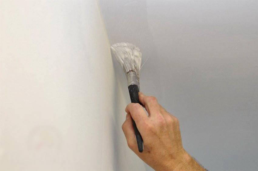 Нужно ли шпаклевать весь потолок перед покраской водоэмульсионной краской
