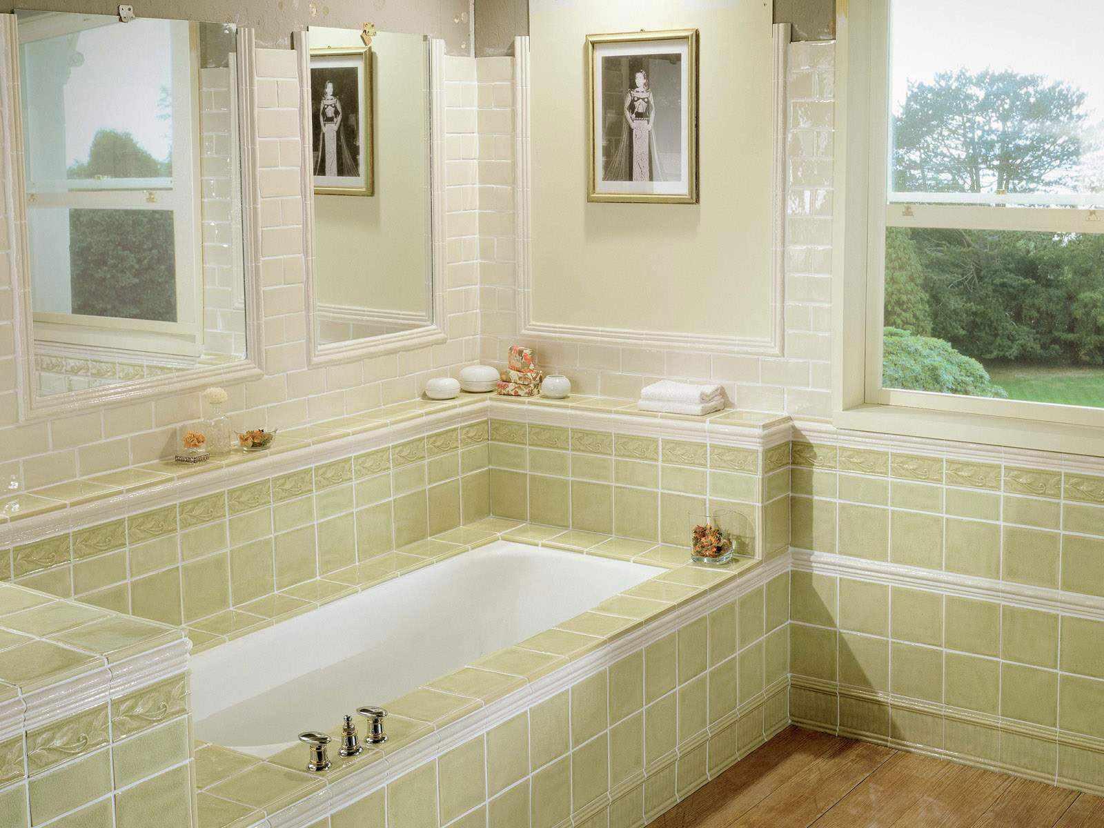 Чтобы мыться и глаз – радовался! или чем отделать стены в ванной