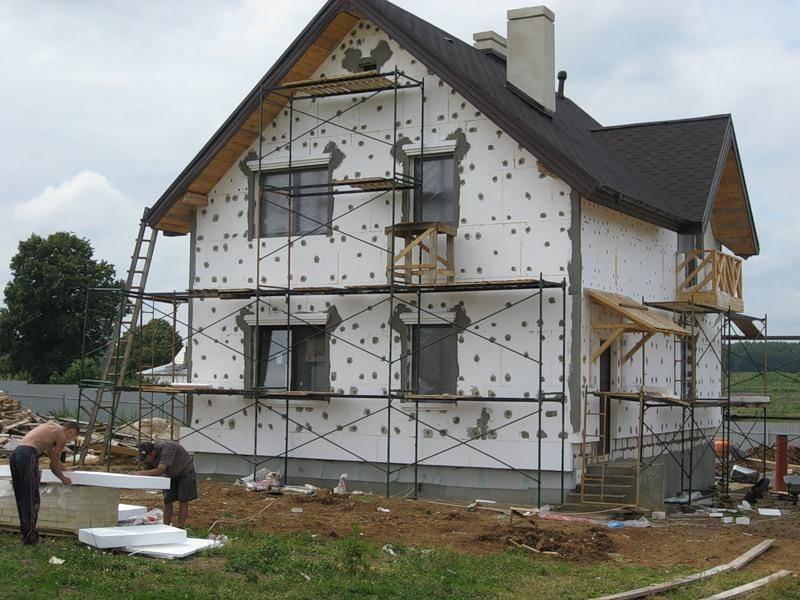 Утепление фасадов пенопластом. пошаговая инструкция