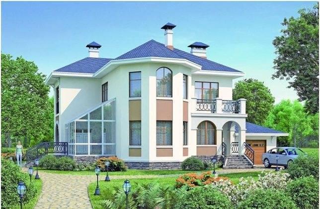 Дом двухэтажный и фото красивых проектов домов