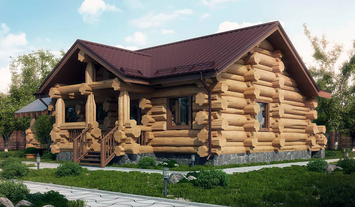Дома из срубов и технология строительства