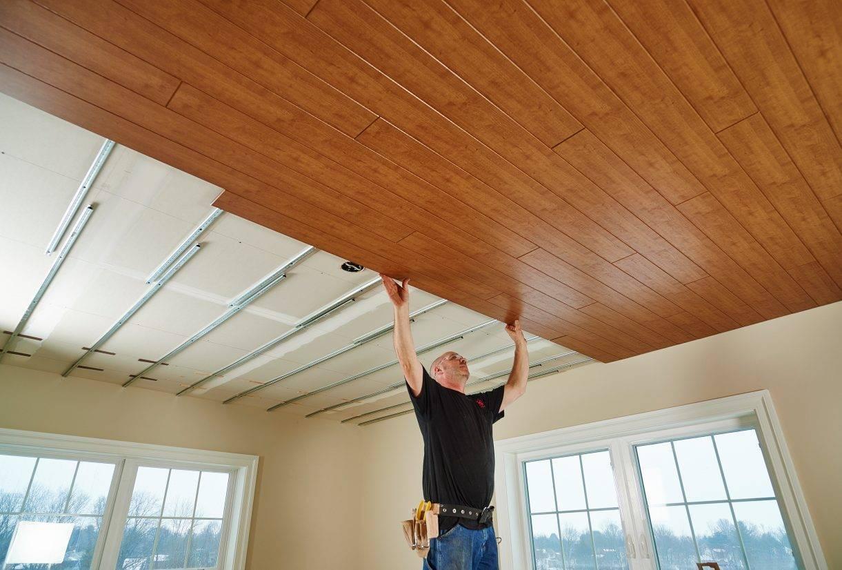 Основные правила и материалы для отделки низких потолков в частном доме