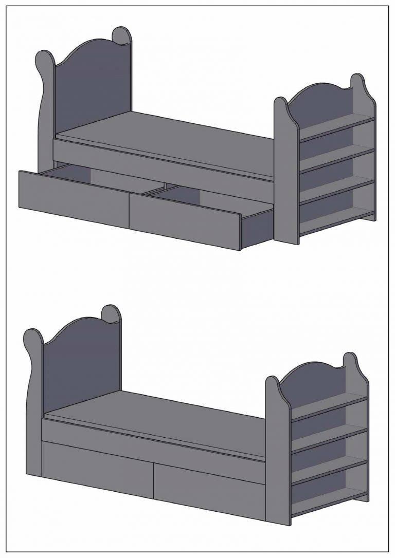 Как сделать кровать-машину для ребенка своими руками?