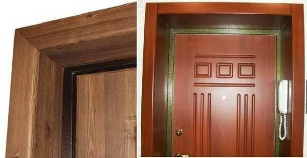 Установка дверных откосов своими руками: для входных дверей (внешние и внутренние,) для межкомнатных в разных помещениях