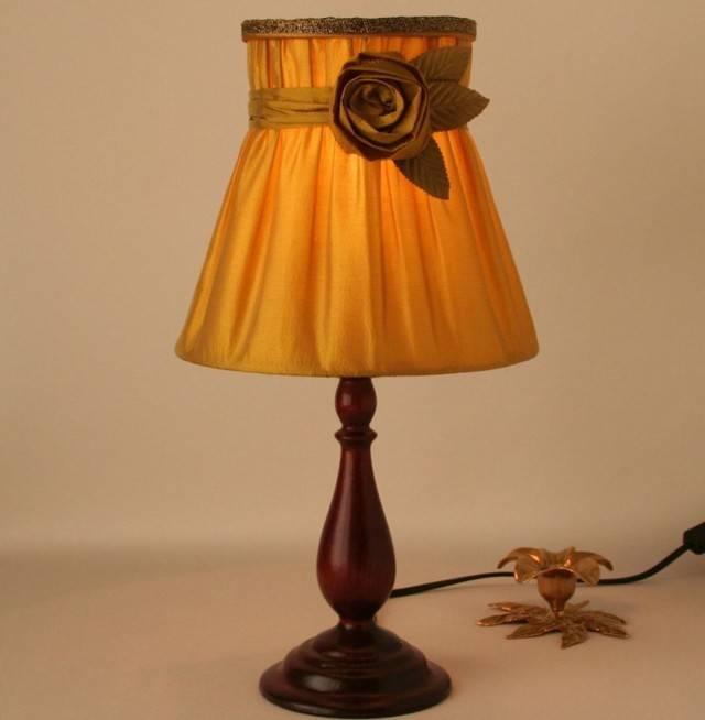 Абажур своими руками для настольной лампы   nur.kz