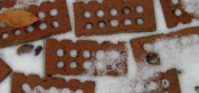 Можно ли зимой класть кирпичную кладку