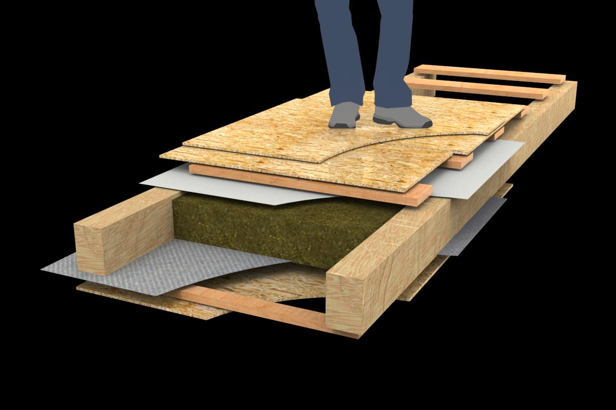 Шумоизоляция в деревянном доме | звукоизоляция деревянного дома