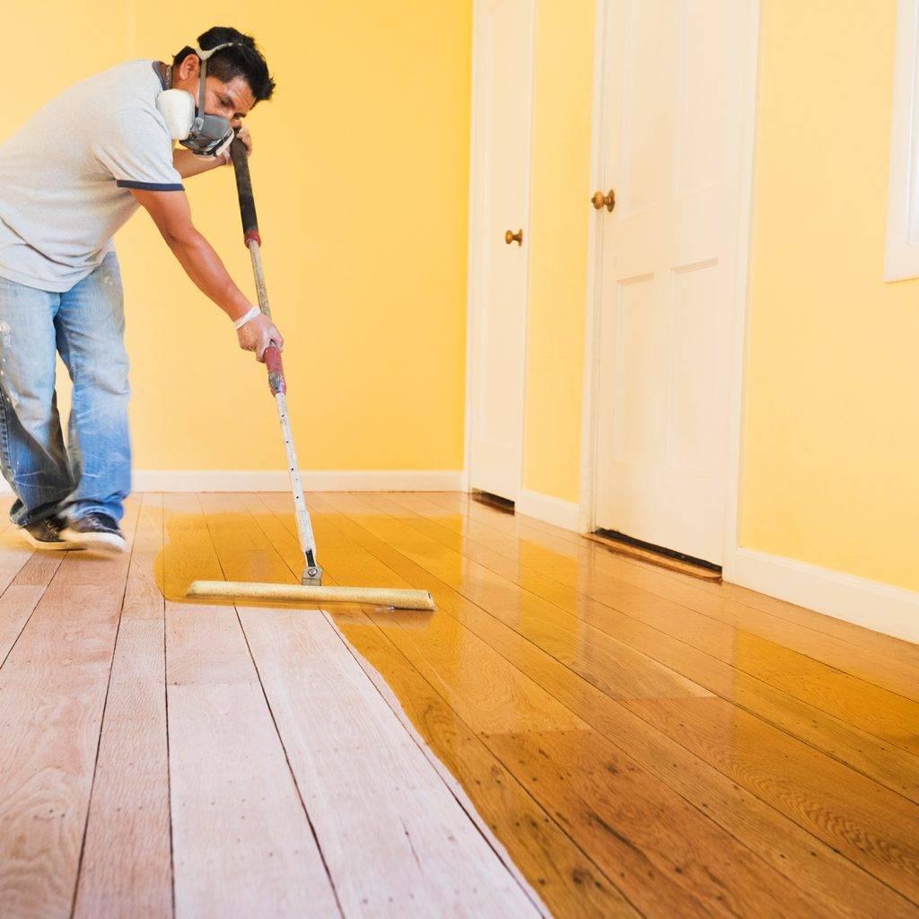 Чем покрасить деревянный пол в доме — преимущества покрашенного пола, выбор материала и порядок работ