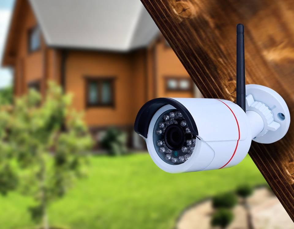 Видеонаблюдение для коттеджа как выбрать и установить камеры, видеорегистратор и организовать удаленный доступ