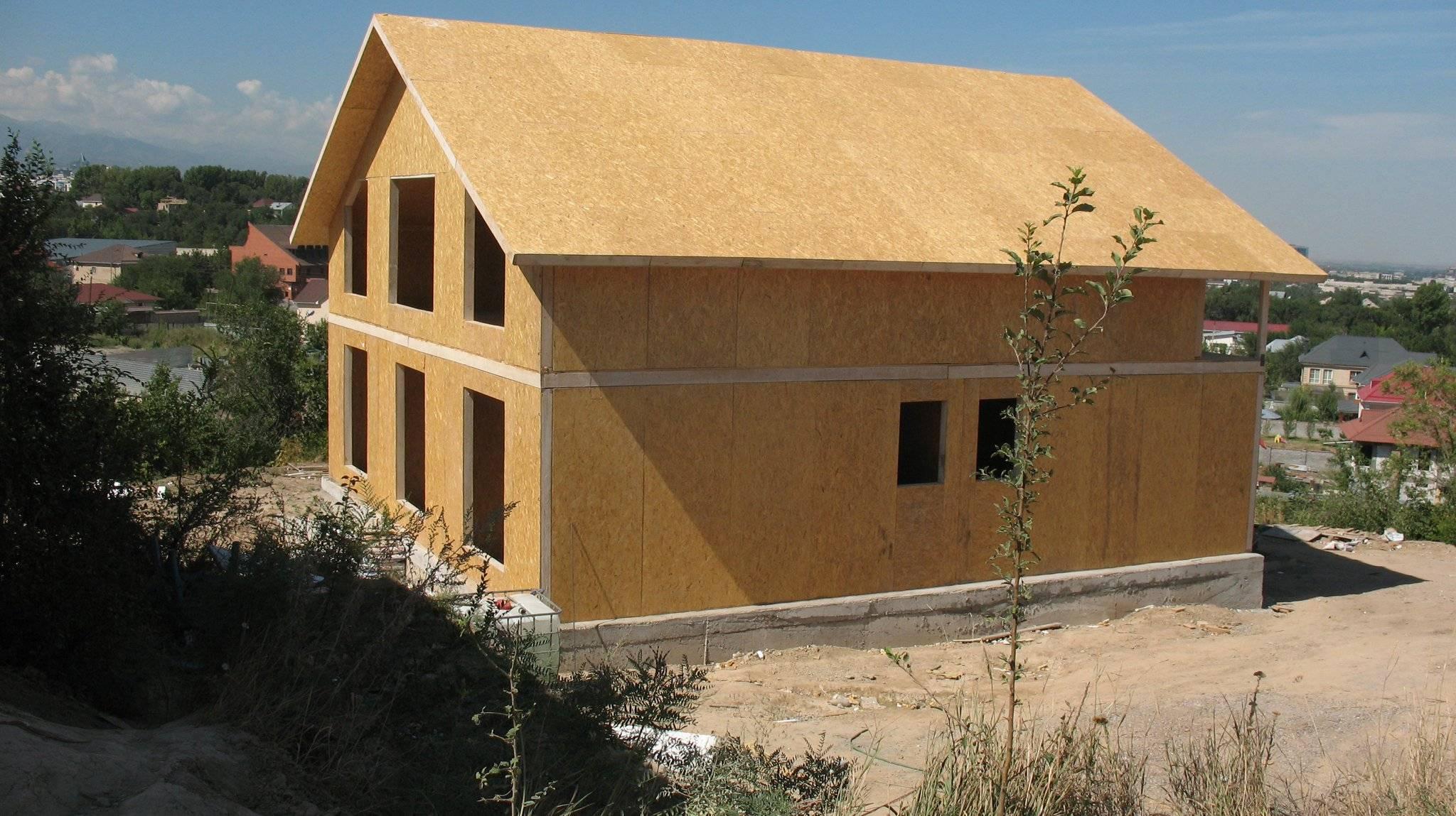 Технология строительства каркасных домов по канадской технологии из сип панелей