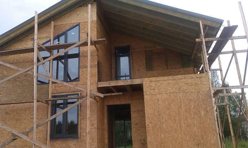 Каркасно панельные дома: плюсы и минусы, отзывы