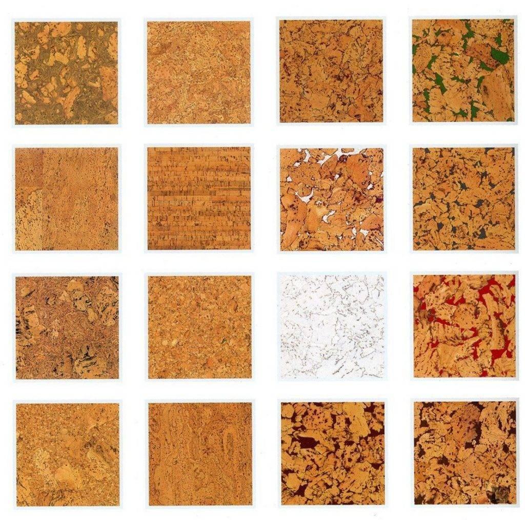 Виды потолочного пробкового покрытия и технология отделки плиткой